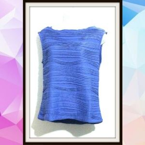 Tanjay Petite SP Pleated Sleeveless Blouse Top
